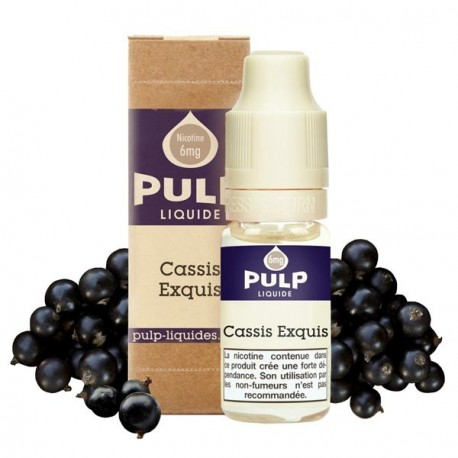 E-liquide Cassis Exquis - Pulp